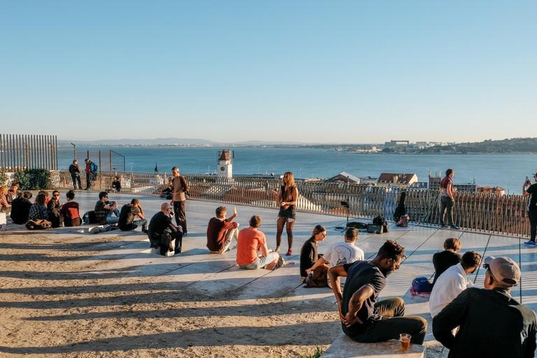 Watson - Portugal - Lisbon- Miradouro de Santa Catarina (Miradouro do Adamastor)