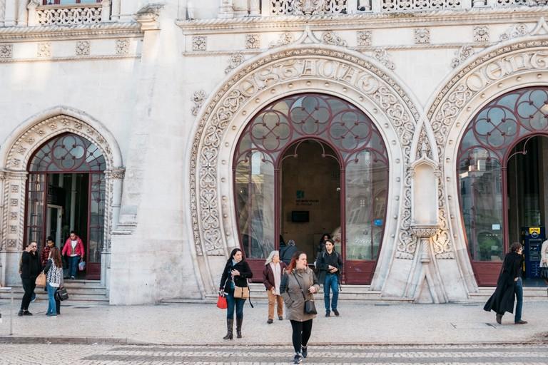 Watson - Portugal - Lisbon - Rossio train station_
