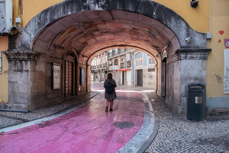 Watson - Portugal- Lisbon - Rua Nova do Carvalho (known as Pink Street), Cais do Sodré