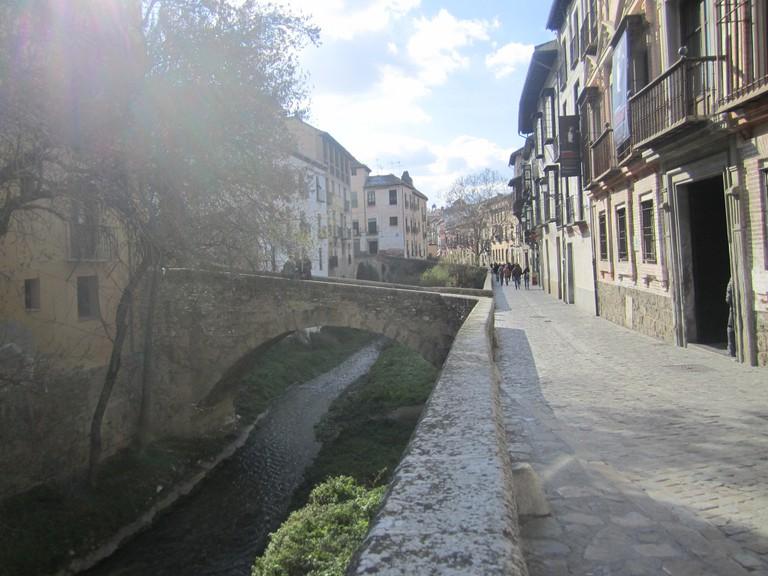 The charming Carrera del Darro, by the Darro river, Granada, Spain; © Cristina Borge Amador