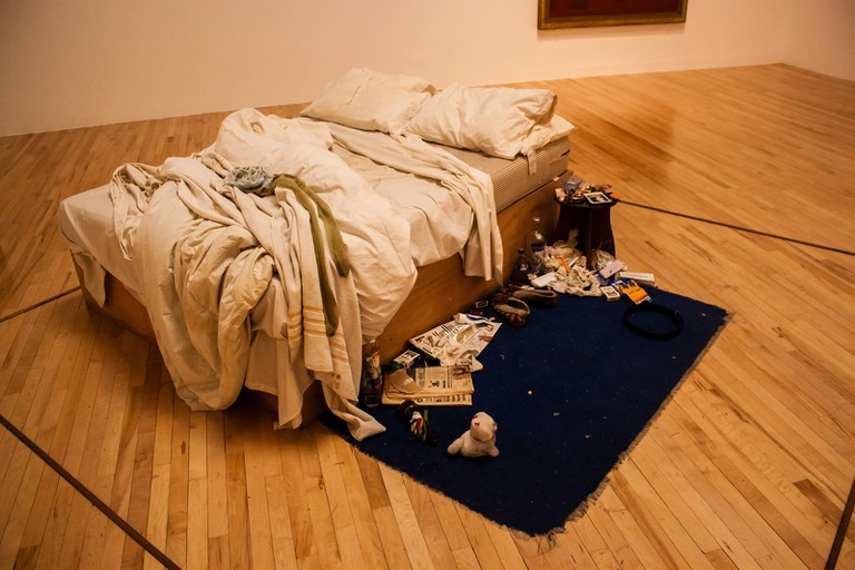 My Bed, Tracey Emin, Tate Britain