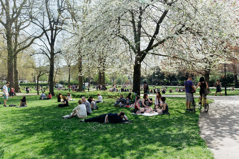 Russell Square, Bloomsbury, London