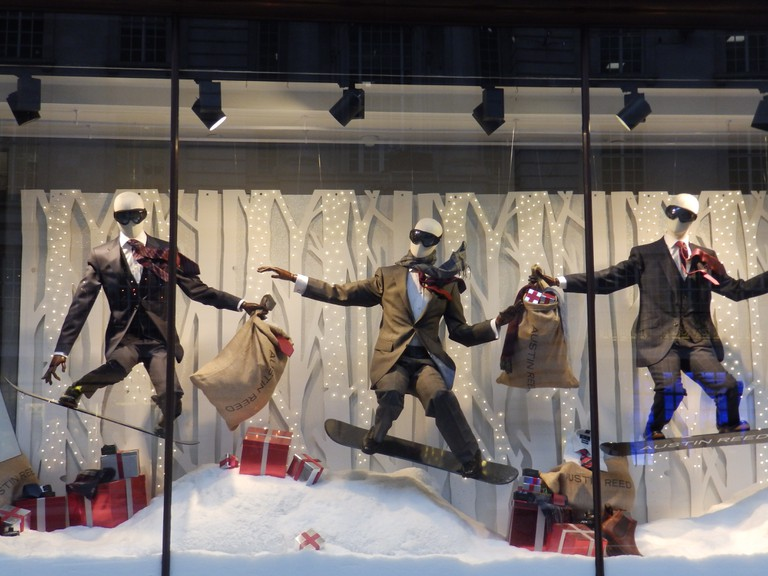 Window Display for Austin Reed