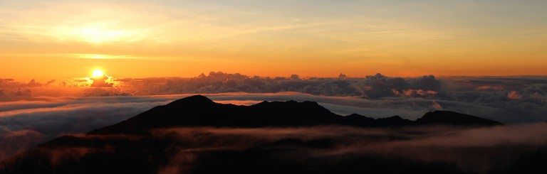 Dawn in Haleakalā