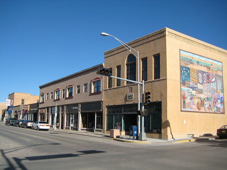 Downtown Gallup | © Richie Diesterheft/WikimediaCommons