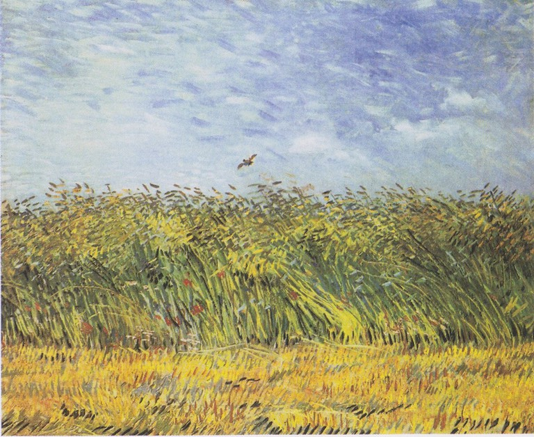Vincent Van Gogh, Wheat Field with a Lark, 1887