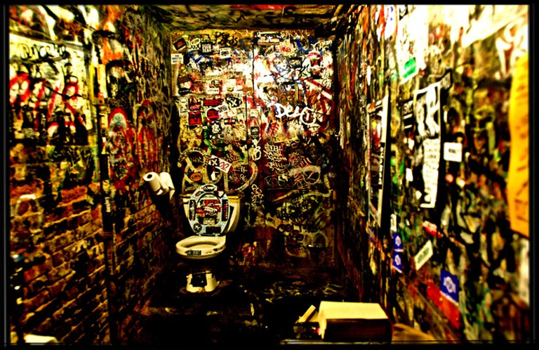 CBGB restroom