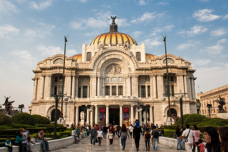 Palacio de Bellas Artes © Derek Bruff/Flickr