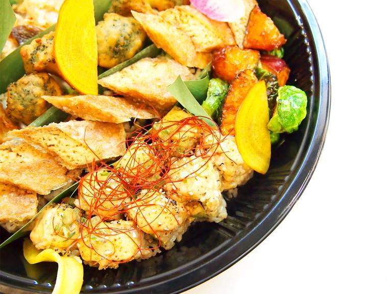 Shojin's Thanksgiving Platter