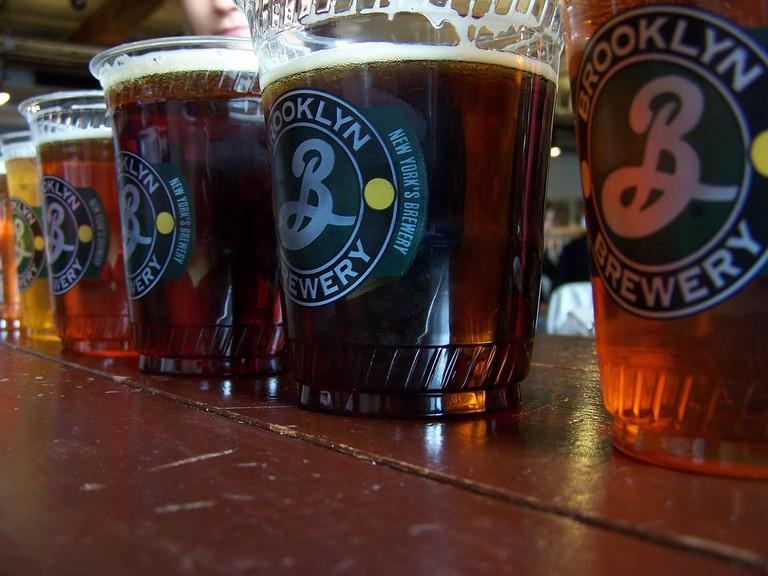 Beers of the Brooklyn Brewery | © Jeff Egnaczyk/FlickrBeers of the Brooklyn Brewery | © Jeff Egnaczyk/Flickr