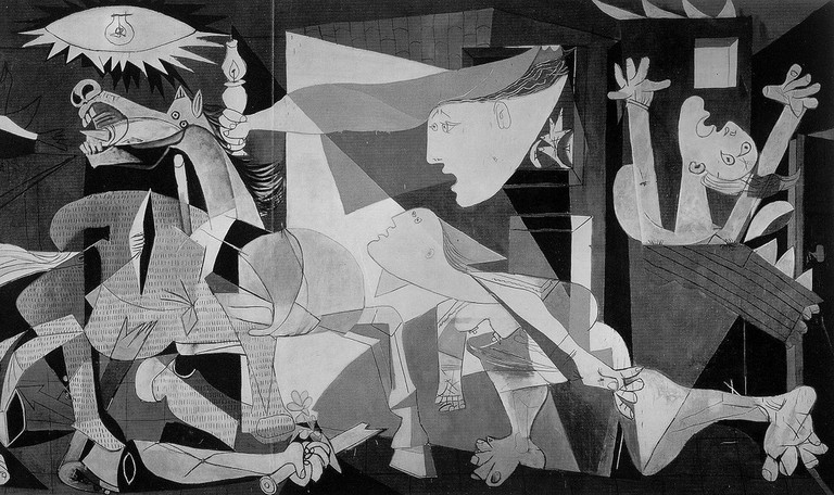 Guernica by Pablo Picasso | © Mike Barry/Flikr