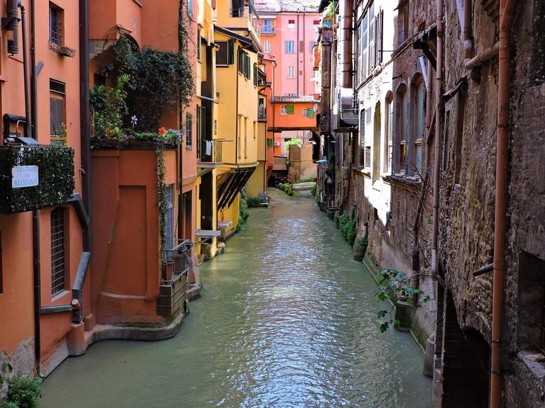 Canale di Reno, Bologna