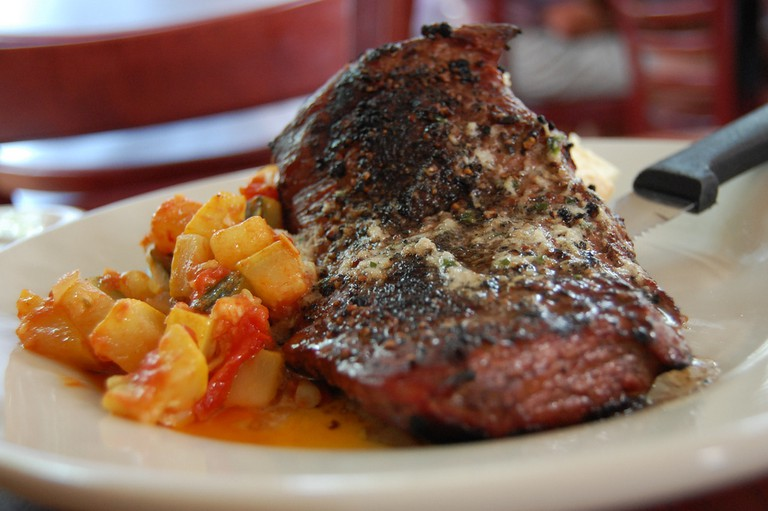 Flat Iron Steak | © stu_spivack/Flickr