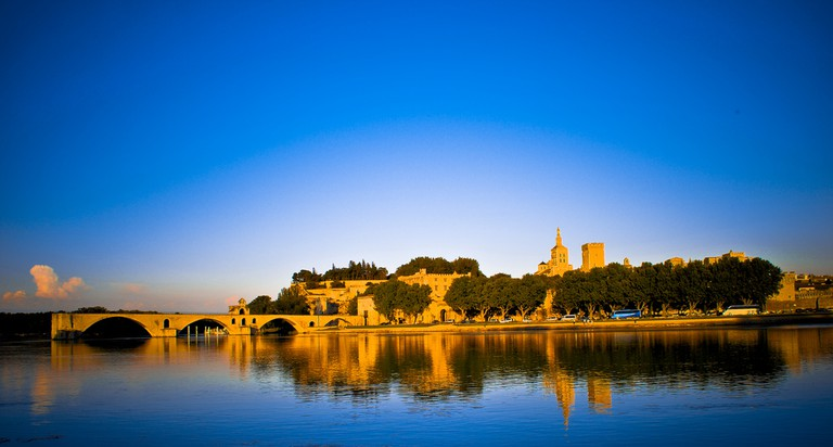 The medieval city of Avignon