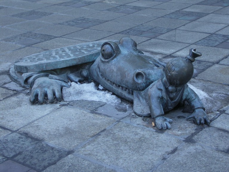 Alligator from the sewer l © Martin Sutherland/Flickr