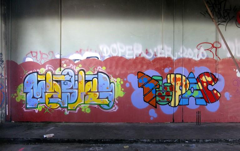 Graffiti in Oakland