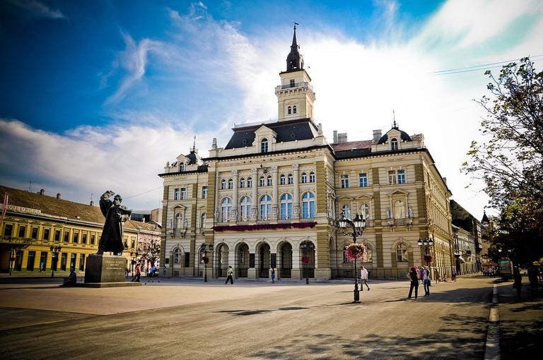 Novi Sad's Freedom Square