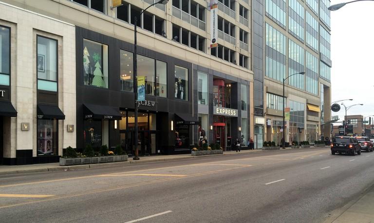 Shops along North Avenue | © Benita Gingerella