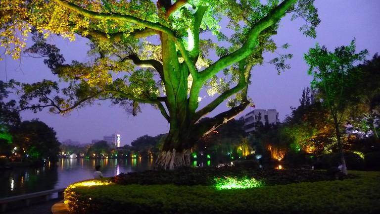 Li River at night