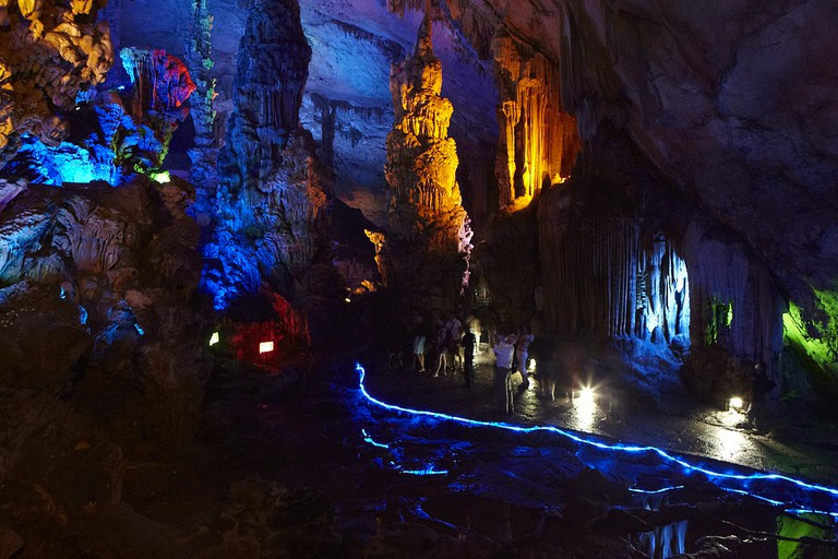 Reed Flute Cave, Guilin © ckmck/Flickr