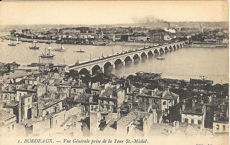 Pont du Pierre, Bordeaux (1907) | © Langladure/WikiCommons