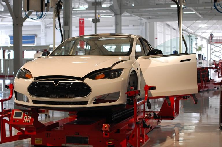 Tesla Factory, Fremont (CA, USA) | ©Maurizio Pesce/Flickr