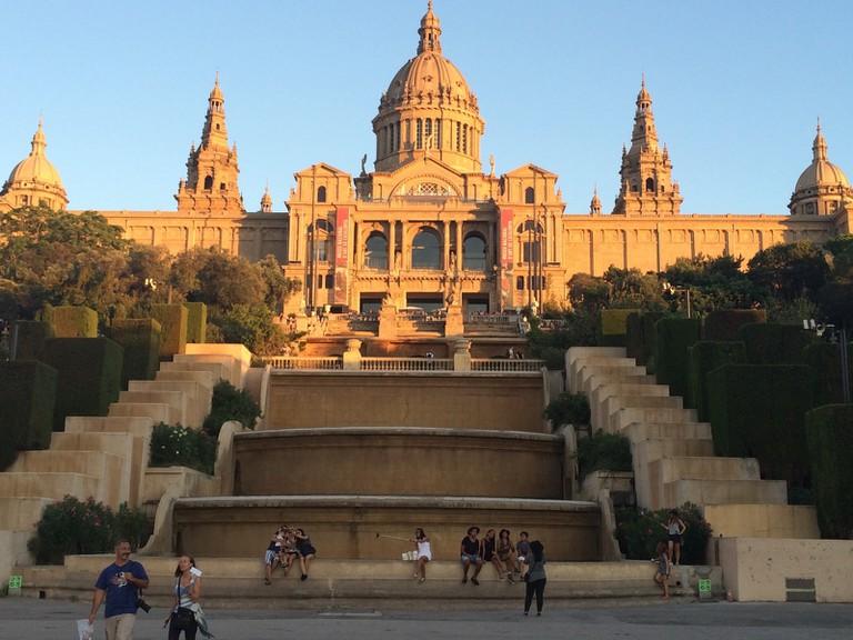 The Museu Nacional d'Art de Catalunya l