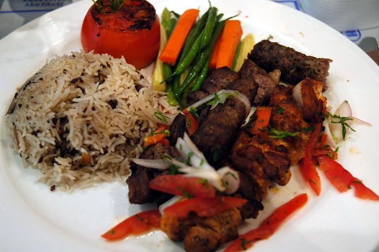 Arabic Mixed Grill [ © Jpatokal/ Wikimedia ]