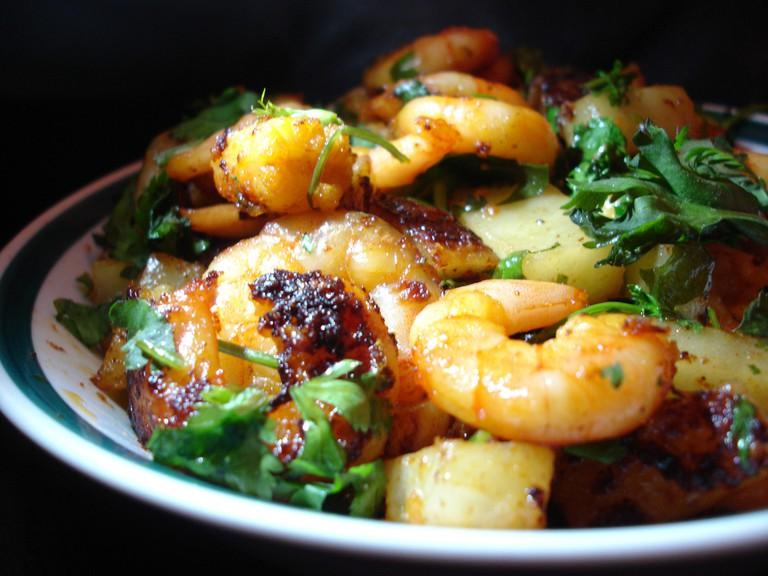 Awadhi prawns   © Sambharat/WikiCommons