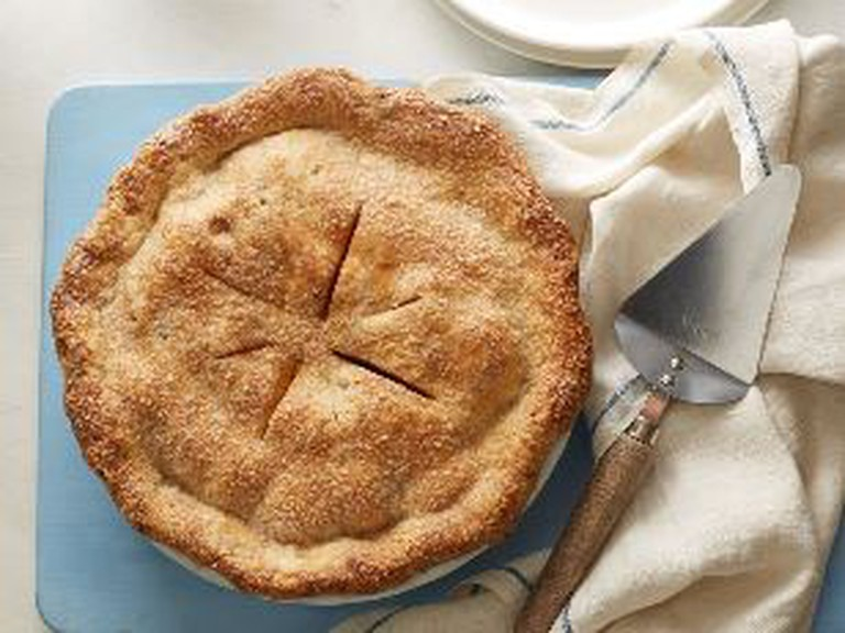 FoodNetwork.com's deep dish vegan apple pie