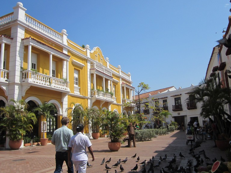 Cartagena_old_town © Robert Schediwy/ WikiCommons