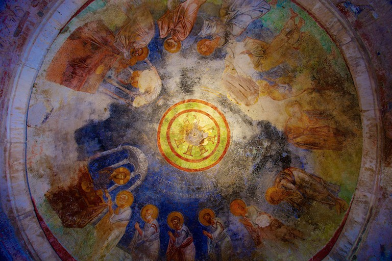 Ceiling fresco, St. Nicholas Church, Demre | © Jiuguang Wang/Flickr