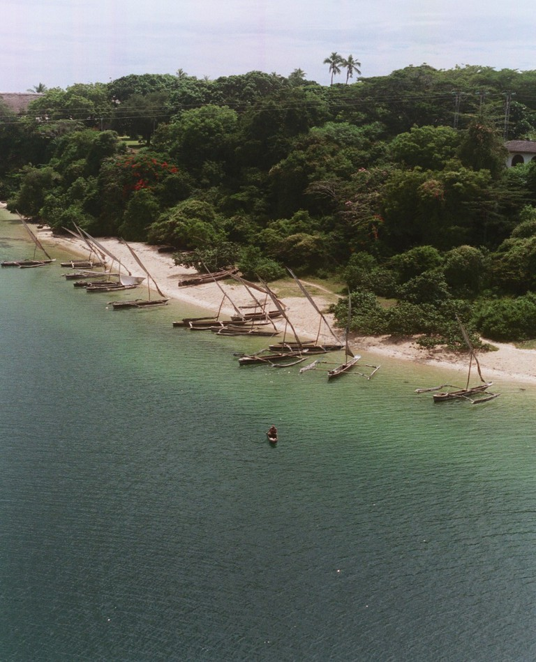 Dhows in Kilifi Creek