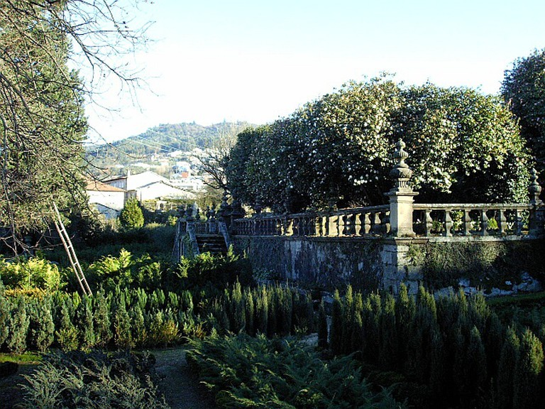 Jardins do Palacio de vila Flora
