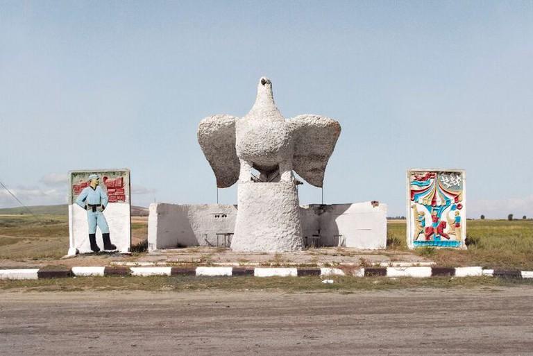 An Elaborate Bus Stop In Karakol, Kyrgyzstan | Courtesy Christopher Herwig