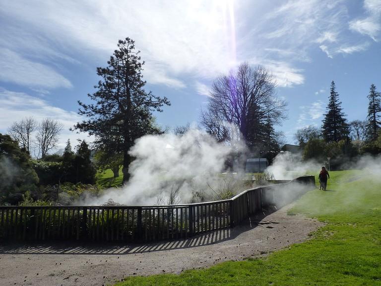Kuirau Park, Rotorua, New Zealand | © Michal Klajban/Wikcommons