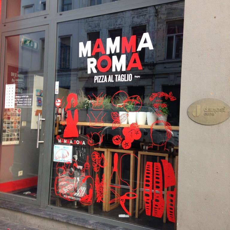 The exterior of the famous Mamma Roma | © Mamma Roma