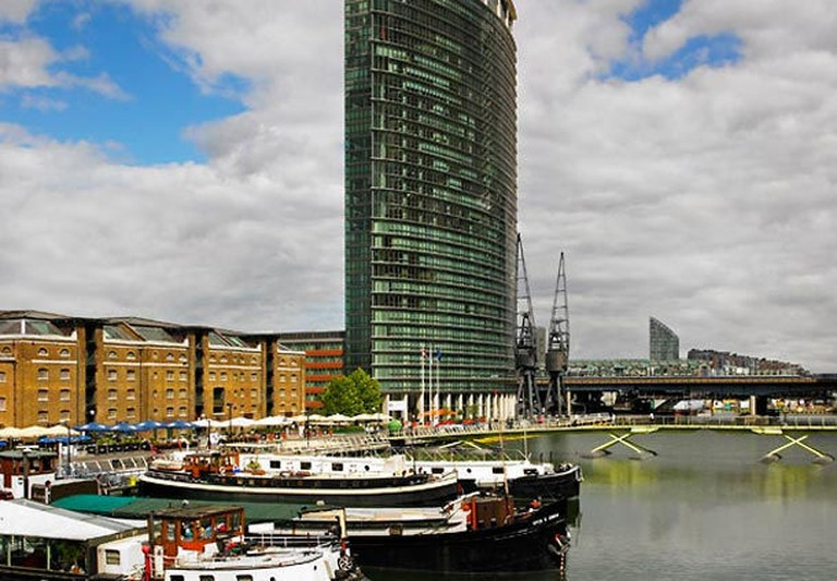 Image courtesy of London Marriott Hotel West India Quay