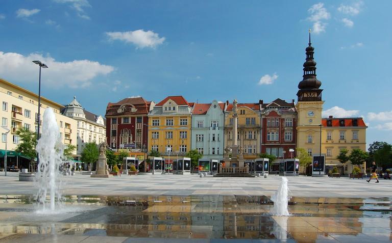 Masaryk Square in Ostrava | © Petr Šmerk l WikiCommons