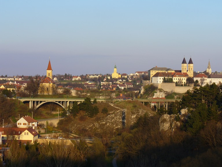 Veszprém castle and viadukt/Photo by author