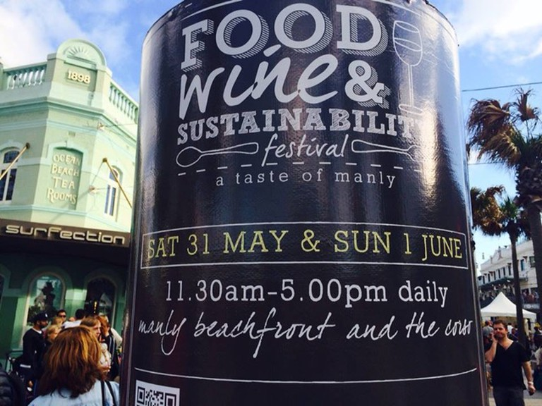 Manly Food and Wine Sustainability