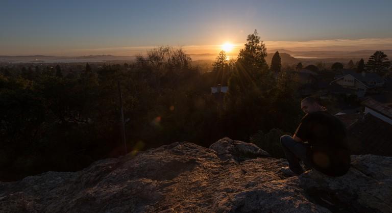 Indian Rock Park in Berkeley at sunset | © D Coetzee/Flickr