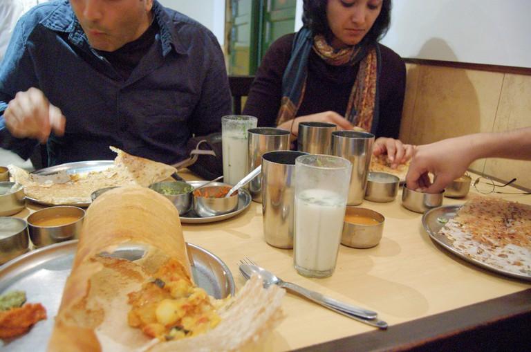 Breakfast at Sagar Ratna © Scott Dexter/Flickr