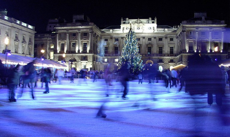 Skating ring at Somerset House | © Michael Pead, WikkiCommons