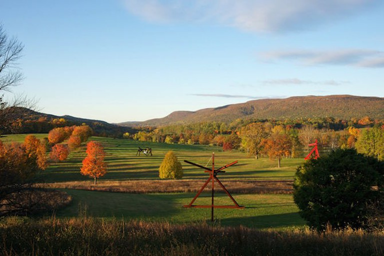 Storm King South Fields, Art by Mark di Suvero | Jerry L. Thompson