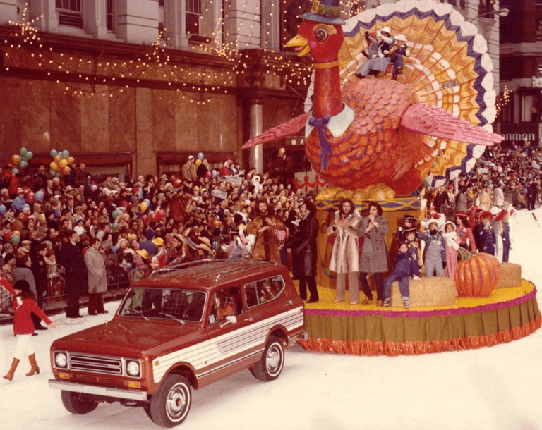 Tom Turkey float – Oldest in the Parade 1970s