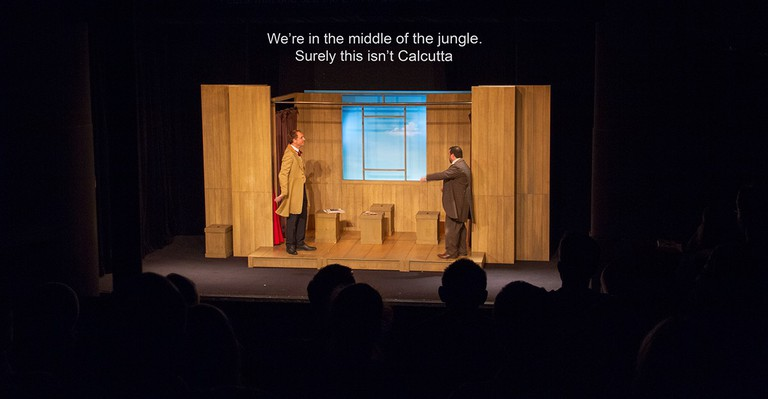 Around the World in 80 Days, surtitled by Theatre in Paris, at Théâtre du Splendid.