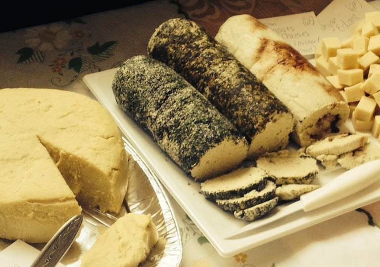 Vegan Cheese Board
