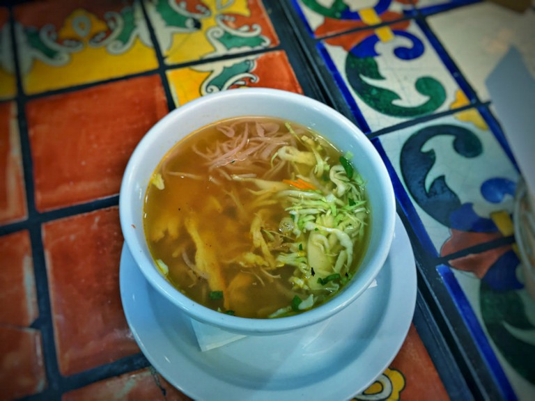Chichen Itza Turkey (Pavo) Soup