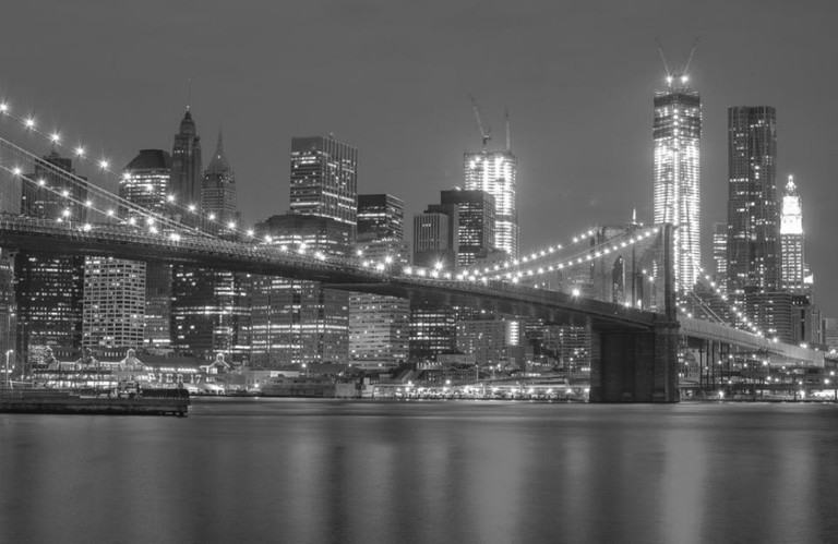 black night new york